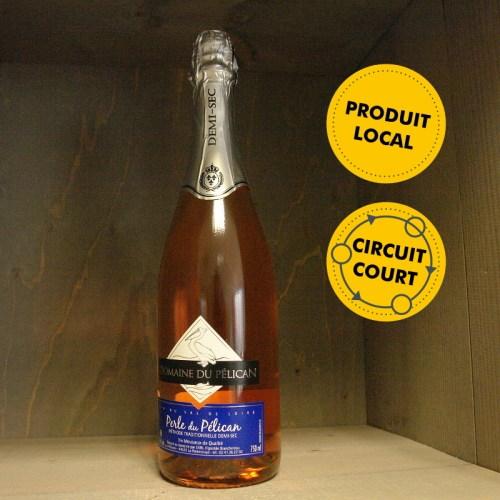Vignoble Branchereau - Domaine du Pélican - Perle du Pélican rosé demi-sec