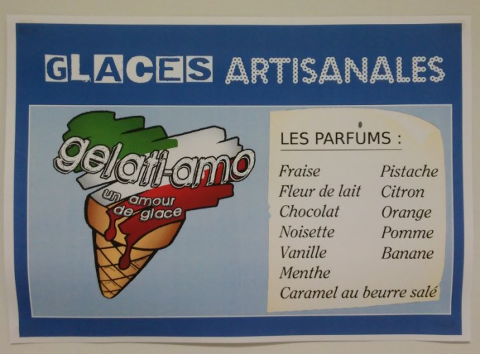 Gelati-Amo - glace artisanale parfums