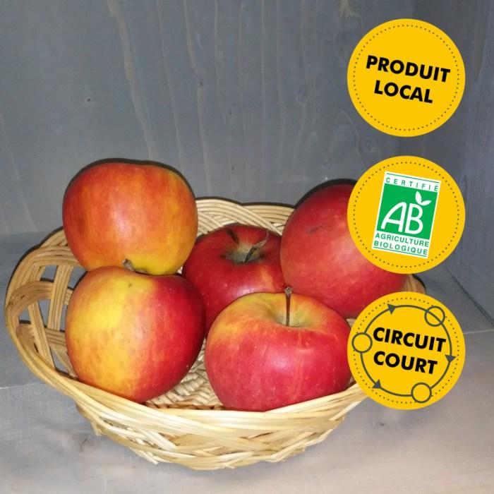 Les Vergers de Guillaumai - pommes Dalinko vrac