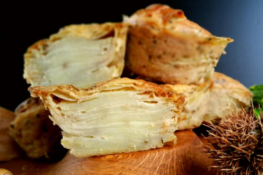 gâteau invisible à la pomme de terre (vegan) | envie d'une recette