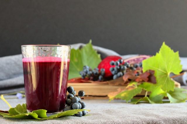 jus d'automne chou raisin betterave