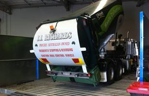 Enviroconcept, water recycling, Truck Wash