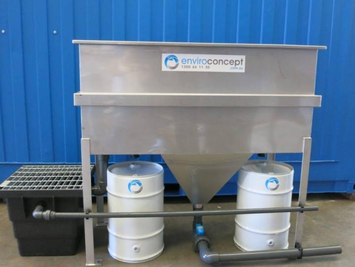 Coalescing plate separator, OWS, Enviroconcept