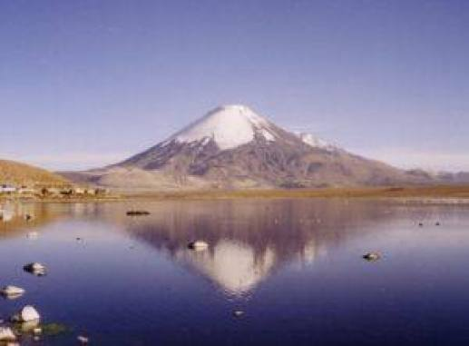 """Parinacota"" by Gerd Breitenbach - Own work. Licensed under CC BY-SA 3.0 via Wikimedia Commons - https://commons.wikimedia.org/wiki/File:Parinacota.jpg#/media/File:Parinacota.jpg"
