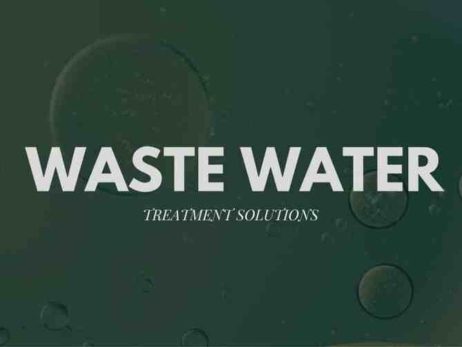 Enviro Concepts, waste water, wastewater