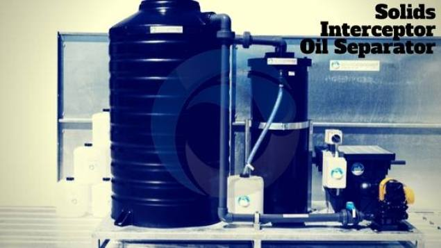 Enviro Concepts, Oil Water Separator