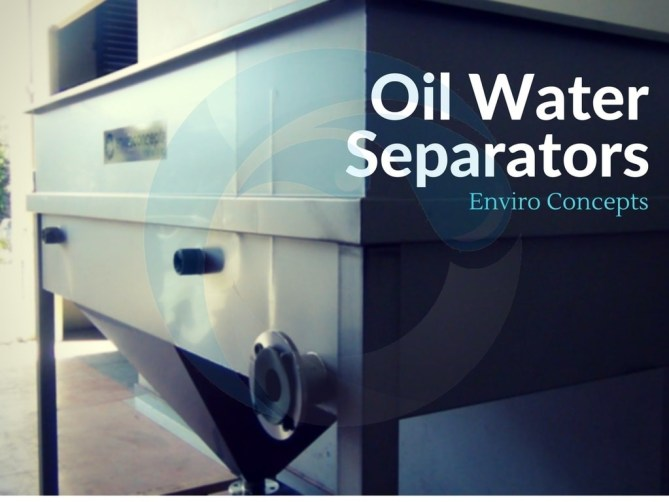 Oil water separator, oily water