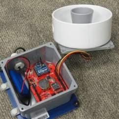 4 Wire Ultrasonic Level Transmitter 2001 Yamaha R6 Tail Light Wiring Diagram Water Depth Sensor Envirodiy