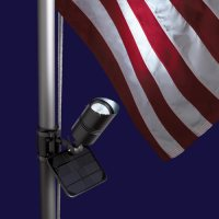 Solar Powered Flag-Pole Lighting - EnviroGadget