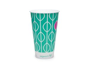 22oz paper cold cup, 96-Series - Hula