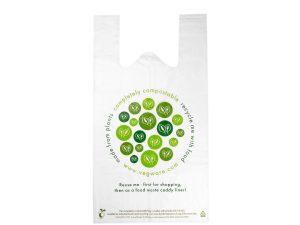 Medium compostable carrier bag