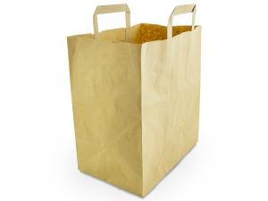Large recycled paper carrier