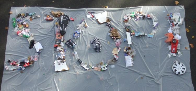 Opération ramassage de déchets avec les élèves du lycée Paul Valéry