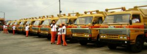 Female drivers preferred in Lagos waste evacuation scheme Trucks 300x112