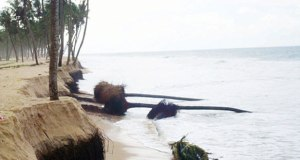 Lekki coastal erosion  Video: Ocean surge, erosion threaten Lagos coastline Lekki1