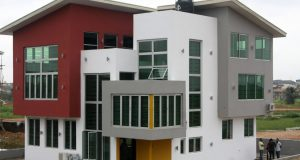 First occupant moves into 'Grenadines Mansion' in Propertymart's Arepo Citiview Estate Proprtymart 2