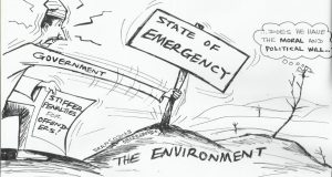 State of emergency STATE OF EMERGENCY ON ENVIRONMENT