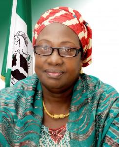 Minister of Environment, Mrs. Laurentia Mallam