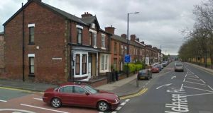 Man, 23, found bleeding in street after being stabbed several times GV Ashton