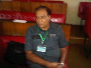 Prof M. K. C. Sridhar