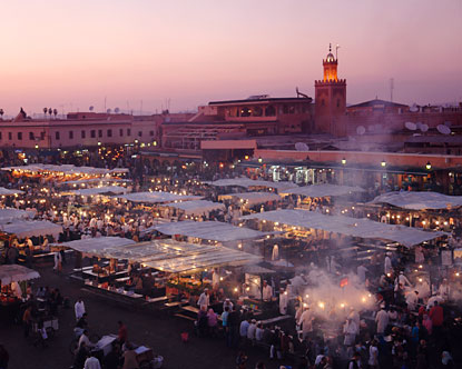 Marrakesh in Morocco, the COP22 conference host city