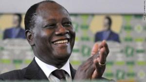 President of the Ivory Coast, Alassane Ouattara