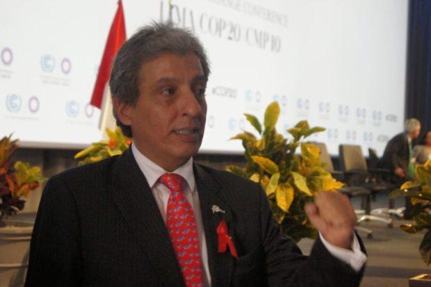Environment Minister of Peru, Manuel Pulgar-Vidal