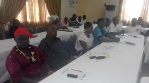 Participants at the gathering