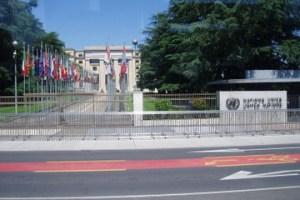 The UN Palais des Nations, Geneva.Photo credit: viator.com  First 2015 talks to advance new climate agreement's draft begin 100809 Geneva UN d578 36 300x200