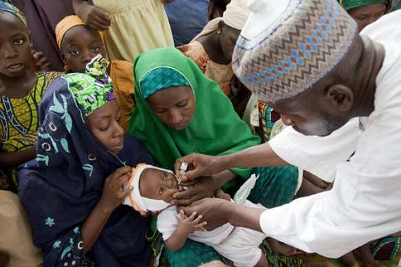 Polio immunisation  Polio eradication: Foundation applauds Rotary, WHO, others Polio