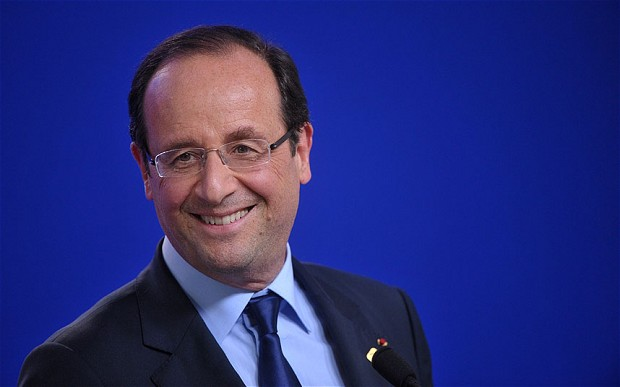 French President, François Hollande. Photo credit: telegraph.co.uk