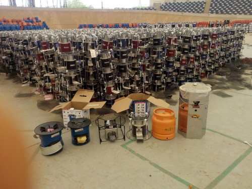 The cookstoves imported under the N9.2 billion FG project