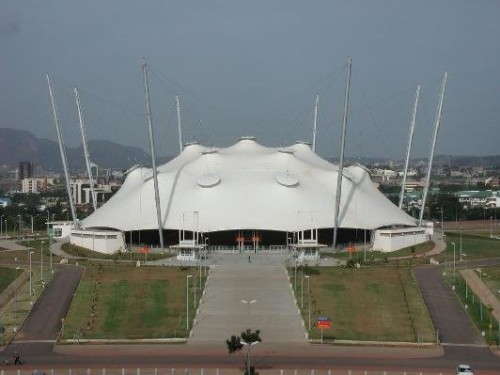 The Velodrome, National Stadium, Abuja...location of the Clean Cookstoves delivery. Photo credit: abujafacts.ng