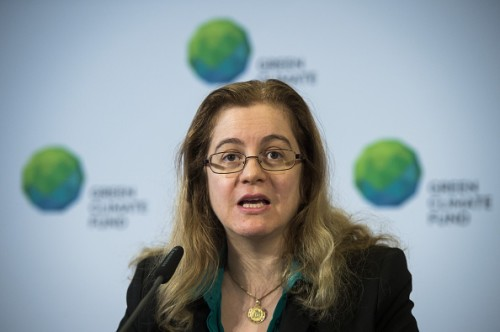 Hela Cheikhrouhou, Executive Director of the Green Climate Fund. Photo credit: gettyimages.com  Green Climate Fund to channel cash via 20 partners GCF head Hela Cheikhrouhou e1436733090287
