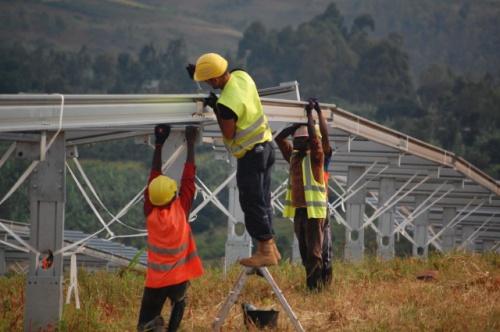 Power plant construction in Rwanda