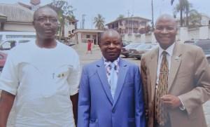 L-R: Mr. Lekwa Ezutah, Deacon Chibueze Nwaogwuwgwu and Dr Femi Olomola