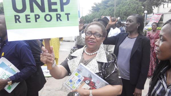 Academic-turned-activist: Dr M. T. Okorodudu-Fubara, a Professor of Environmental Law at the Obafemi Awolowo University, Ile-Ife