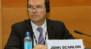 John E. Scanlon, the Secretary-General of CITES  Campaign on endangered species' awareness launched John E