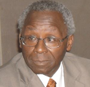 President of NAS, Prof. Oyewale Tomori