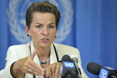 UNFCCC Executive Secretary, Christiana Figueres. Photo credit: eaem.co.uk