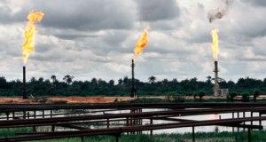 Gas flaring in Ogoniland Nigeria