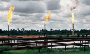 Gas flaring in Ogoniland, Nigeria. Photo credit: premiumtimesng.com