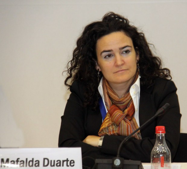 Mafalda Duarte, Programme Manager of the Climate Investment Funds  'SDGs, climate week sent loud and clear message' Mafalda Duarte e1443254984612