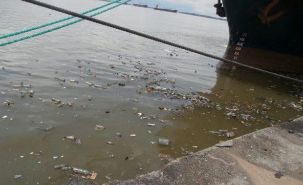 Marine litter in Abidjan, Ivory Coast  Stemming the tide of plastics in oceans Abidjan Ports 37 e1471792481451