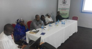 DMO officials at the workshop