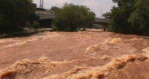 Flooding in South Carolina, USA