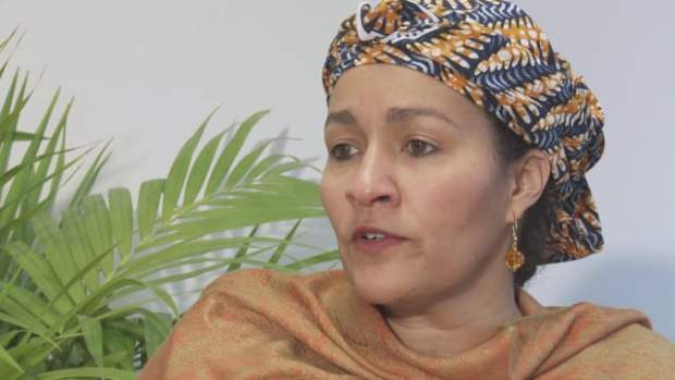 Protecting Environment -Nigeria's Environment Minister, Mrs Amina Mohammed