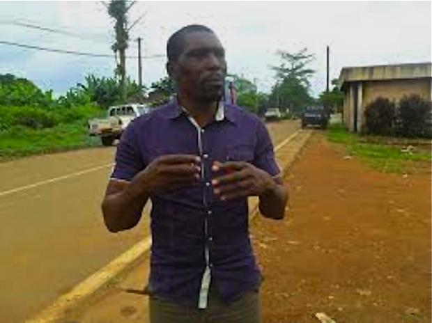 Nasako Besingi. Photo credit: www.palmwatchafrica.org