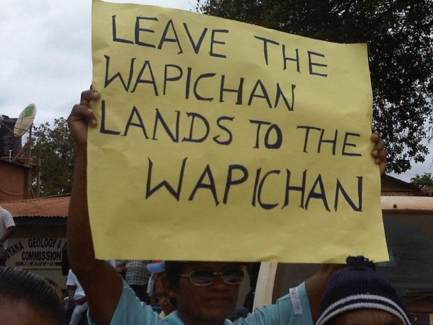 The Wapichan people in Guyana, South America. Photo credit: laurencjohnson.files.wordpress.com  UN to decorate Wapichan community for defending land, forests Wapichan
