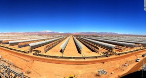 solar  Morocco builds world's largest concentrated solar power plant solar